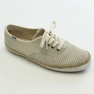Keds Perforated Lace Up Shoe